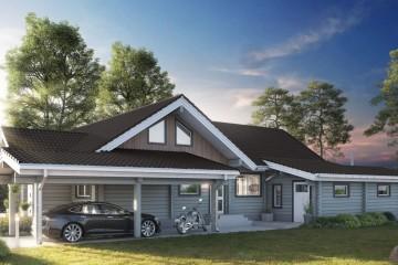 Realizzazione Casa in Legno Eike di Estia House oü