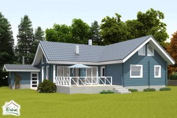 Modello Casa in Legno Eike di Estia