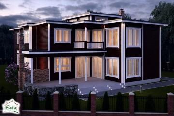 Modello Casa in Legno Maria di Estia