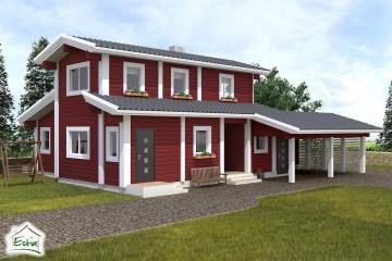 Modello Casa in Legno Marit di Estia