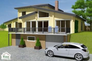 Modello Casa in Legno Sofia di Estia