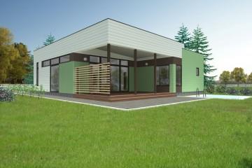 Modello Casa in Legno Kask di Estia House oü