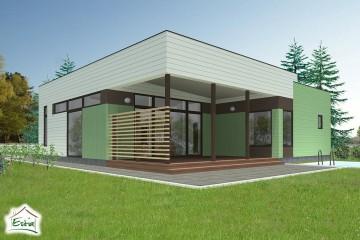 Modello Casa in Legno Kask di Estia