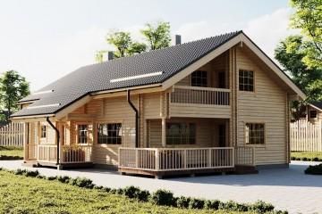 Realizzazione Casa in Legno Märt di Estia House oü