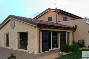 Realizzazione Casa in Legno Casa a Calvagese della Riviera (BS) di Villebio - Energiacasa