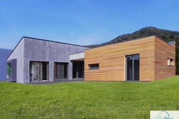 Modello Casa in Legno Villa a Sabbio Chiese (BS) di Villebio - Energiacasa