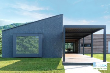 Realizzazione Casa in Legno Villa a Sabbio Chiese (BS) di Villebio - Energiacasa