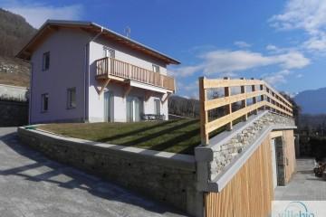 Modello Casa in Legno Casa a Sondrio di Villebio - Energiacasa