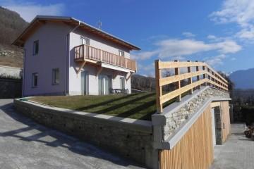 Realizzazione Casa in Legno Casa a Sondrio di Villebio - Energiacasa