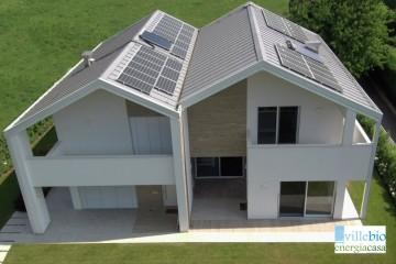 Realizzazione Casa in Legno Casa a Gavardo di Villebio - Energiacasa