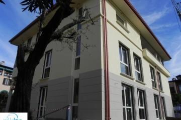 Modello Casa in Legno Palazzina di 4 appartamenti a Salò (BS) di Villebio - Energiacasa