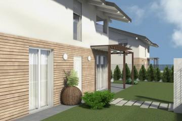 Modello Casa in Legno TELAIO VILLE  - L32 di GRUPPO LANZARO