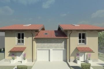 Realizzazione Casa in Legno VILLE BIFAMILIARI di GRUPPO LANZARO