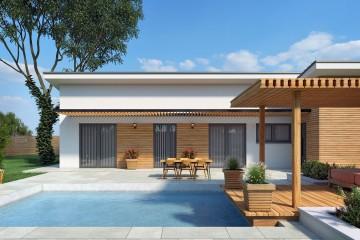 Modello Casa in Legno Vera di Edilbiocasa