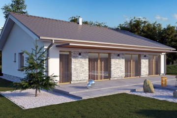 Casa in Legno Chiara