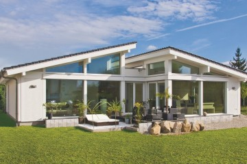Realizzazione Casa in Legno Linea Architettonica Claron di KAMPA ITA