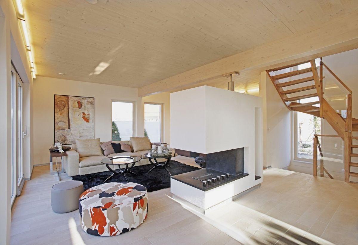 Soluzioni D Arredamento Cesena casa in legno: 8 idee di arredamento per il salotto
