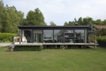 Realizzazione Casa in Legno Linea Architettonica Claron Mod.2 di KAMPA ITA