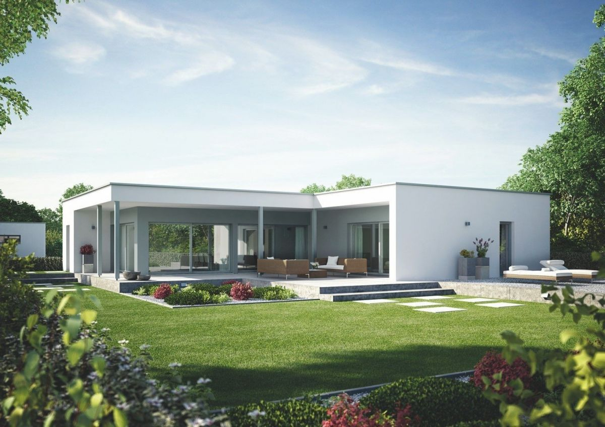 Casa in Legno modello Linea Architettonica Claron Mod.4 di ...