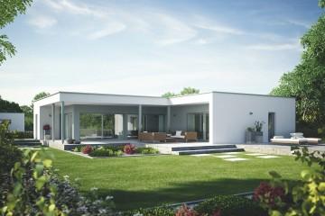 Casa in Legno Linea Architettonica Claron Mod.4