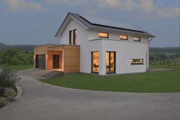 Realizzazione Casa in Legno Linea Architettonica Lanos Mod.2 di KAMPA ITA