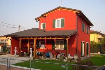 Casa in Legno Linea Architettonica Lanos Mod.3