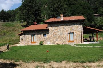 Modello Casa in Legno Linea Architettonica Lanos Mod.5 di KAMPA ITA