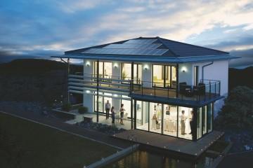 Modello Casa in Legno Linea Architettonica Setros Mod3 di KAMPA ITA