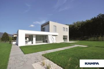 Realizzazione Casa in Legno Linea Architettonica Kubos Mod 1.1160 di KAMPA ITA