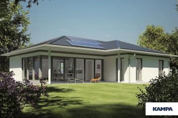 Casa in Legno Linea Architettonica Claron Mod 1.1010