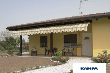 Realizzazione Casa in Legno Linea Architettonica Claron Mod 4.1120 di KAMPA ITA