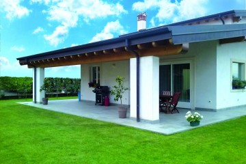 Modello Casa in Legno 1 Giovani Coppie di Ton Gruppe
