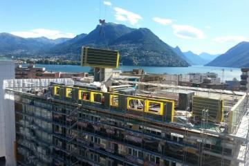 Realizzazione Ampliamento in Legno Condominio ampliamento e sopraelevazione di La Foca House