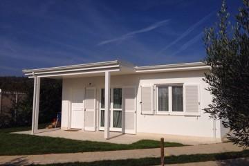 Modello Casa in Legno Mod. 55 mq. di La Foca House