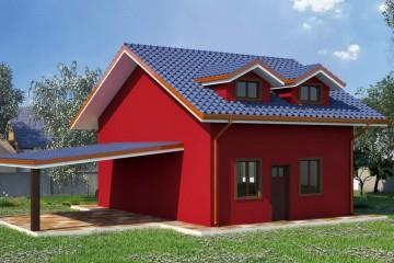 Modello Casa in Legno Mod. 146 mq di La Foca House