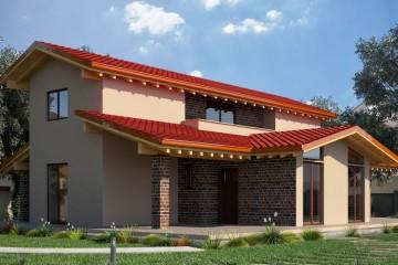 Casa in Legno Mod. 187 mq.
