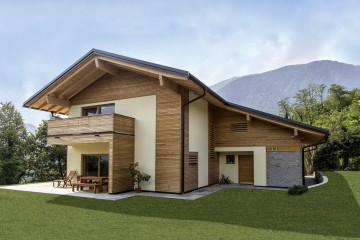 Casa in Legno ROPELATO