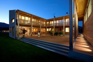 Realizzazione Casa in Legno FIRBER di Rubner Haus