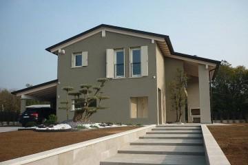 Realizzazione Casa in Legno Abitazione Liedolo di HEMMA CASA