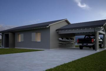 Modello Casa in Legno HEMMACASA90 di HEMMA CASA