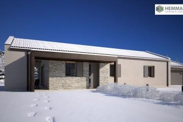 Modello Casa in Legno HEMMACASA100 di HEMMA CASA