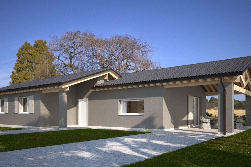Casa in Legno in stile Classico: HEMMACASA120