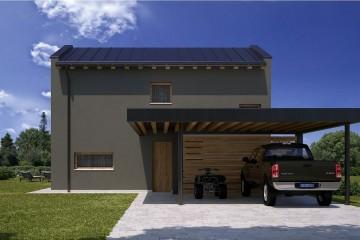 Modello Casa in Legno HEMMACASA150 di HEMMA CASA