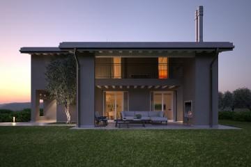Modello Casa in Legno HEMMACASA180 di HEMMA CASA