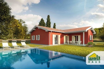 Modello Casa in Legno SELINA di Wolf Haus