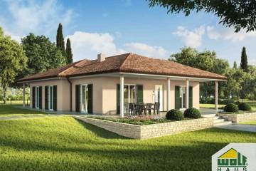 Modello Casa in Legno CARIMA di Wolf Haus