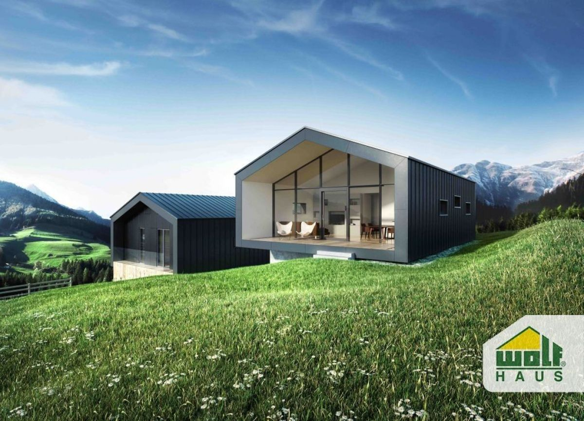 Casa in legno modello arja di wolf haus for Haus case in legno