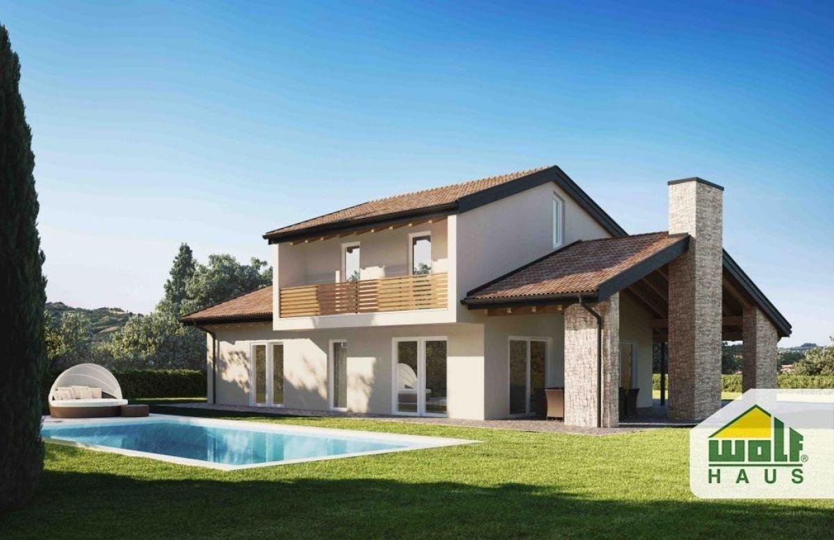 Casa in legno modello kyra di wolf haus for Case prefabbricate ecosostenibili