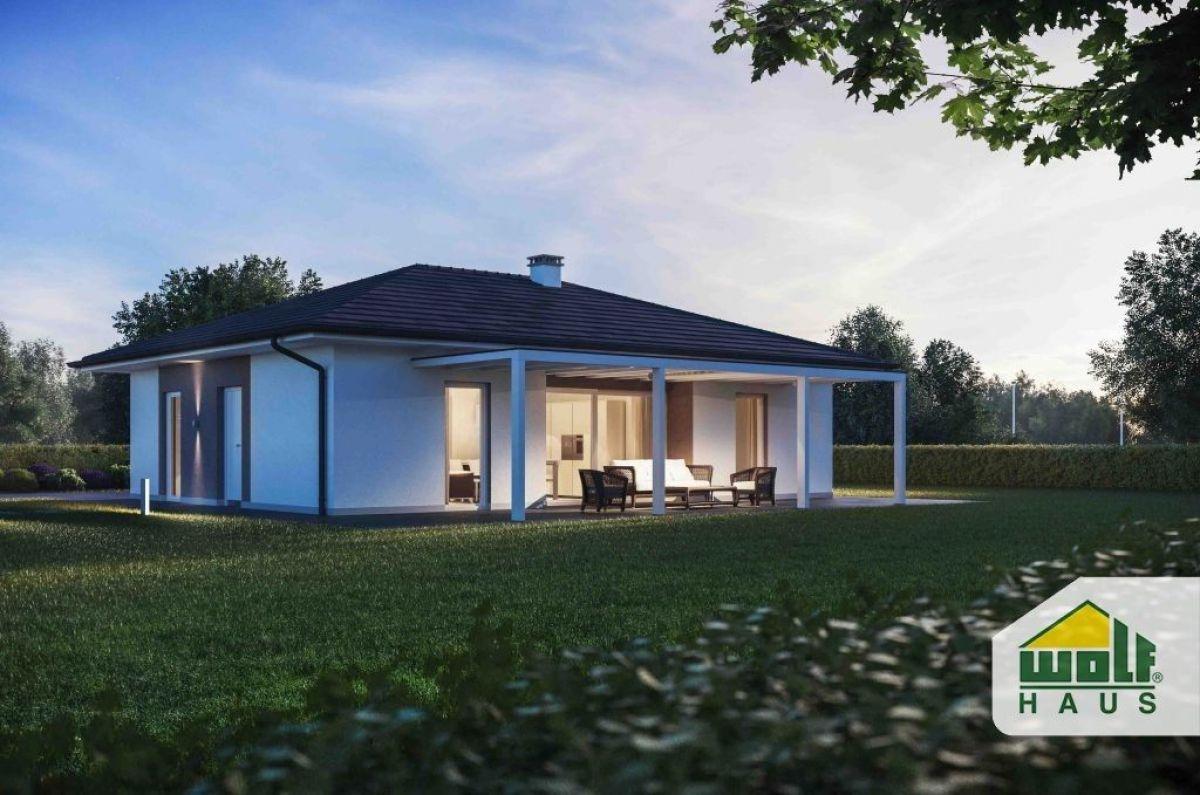 Casa in legno modello yasmina di wolf haus for Haus case in legno