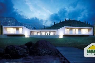 Modello Casa in Legno ACQUACHIARA di Wolf Haus